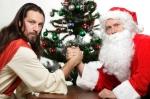 I mixed Santa and God upagain